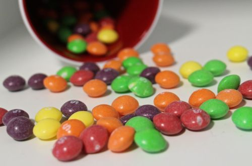 smarties colorful sweetness