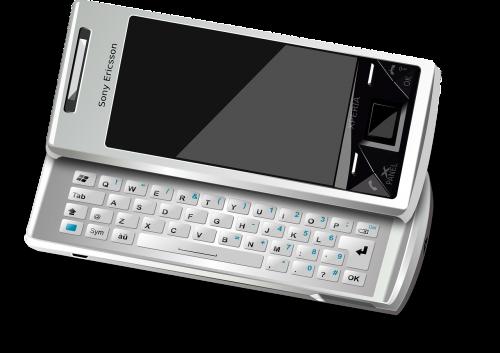 smartphone cellphone sony ericsson