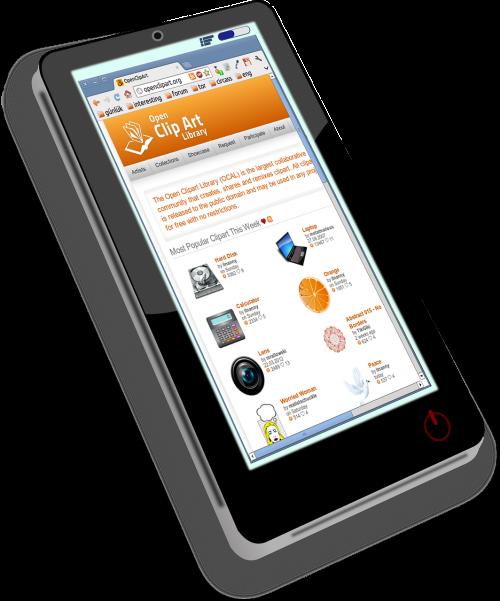 smartphone touchscreen calling