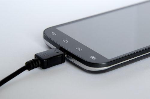 smartphone phone charging