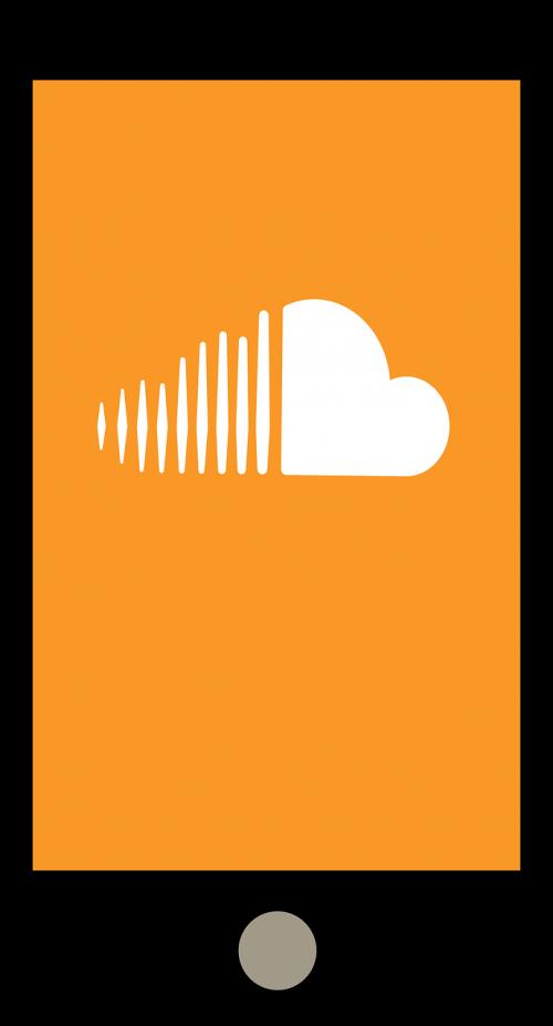 smartphone application soundcloud