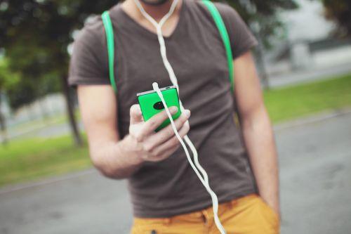 smartphone mobile headphones