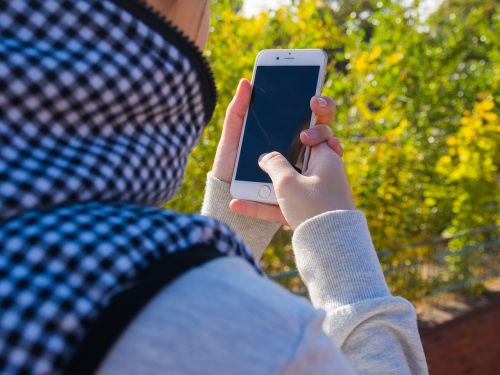 smartphone woman girl