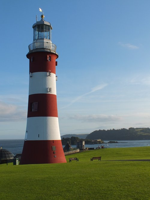 smeatons tower  plymouth hoe  plymouth