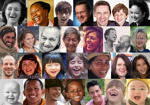 smile laugh portrait