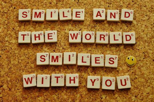 smile cheerful good mood
