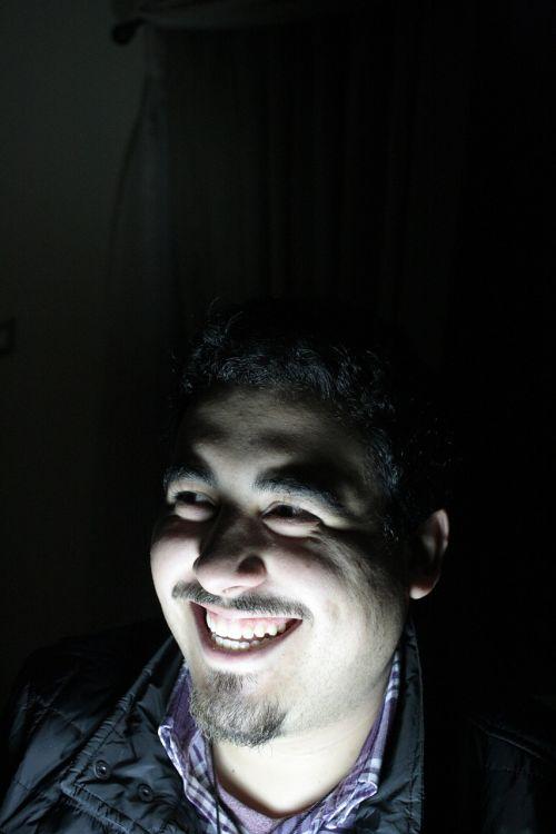 smile dark fear