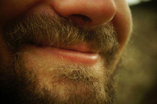 smile beard man