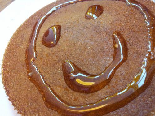 smile face pancake
