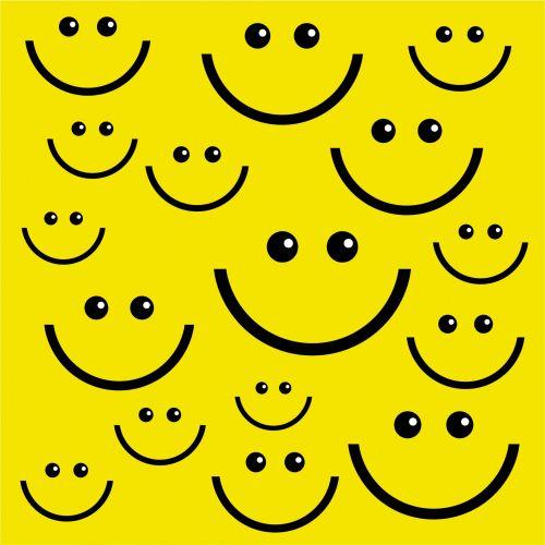 Iliustracijos, clip & nbsp, menas, grafika, iliustracija, laimingas, veidas, šypsena, šypsosi, laimingas & nbsp, veidas, animacinis filmas, geltona, šypsosi & nbsp, veidas, tapetai, modelis, šypsena veido fonas