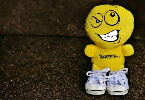 smiley deceitful sneakers