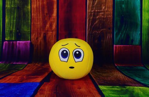 smiley surprised sad