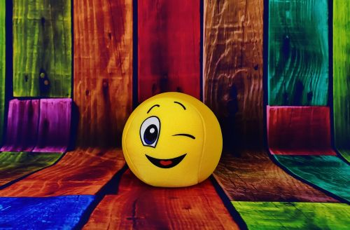 smiley wink funny