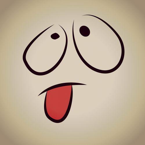 smiley cheeky tongue