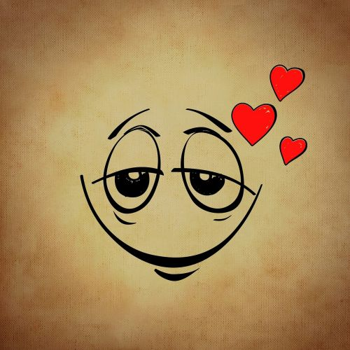smiley emoticon love