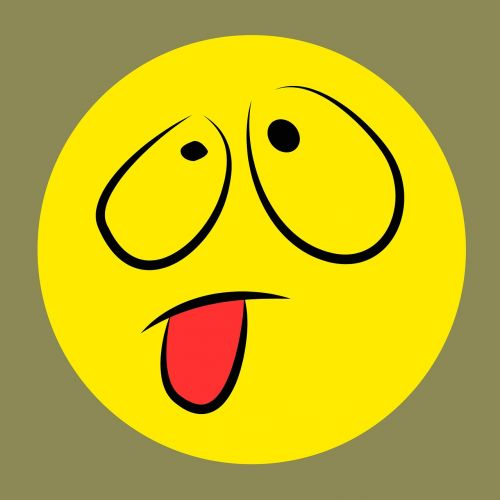 smiley emoticon cheeky