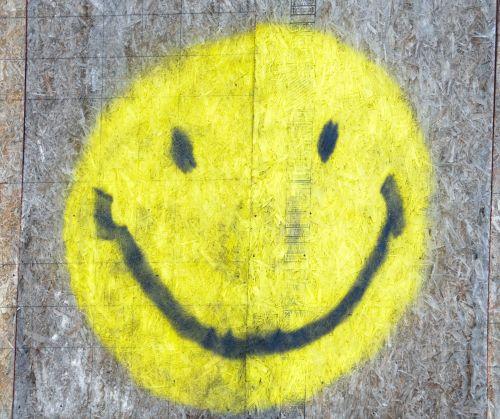 Smiley Graffiti Face