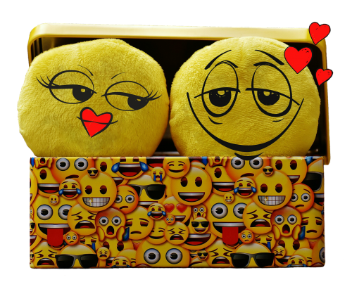 smilies funny isolated