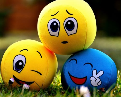 smilies emotions balls