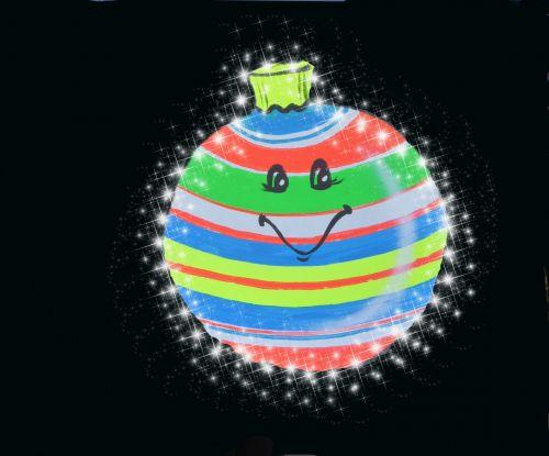 ornamentas, Kalėdos, laimingas, šypsosi, šventė, atostogos, švelnus Kalėdų ornamentas