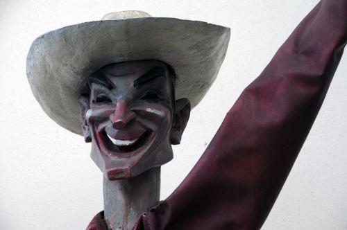 Smiling Cowboy