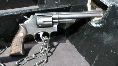 Smith And Wesson Magnum Revolver