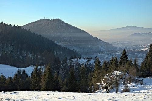 smog winter beskids