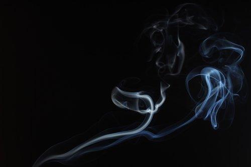 smoke  black  white