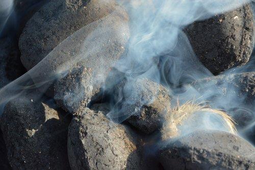 smoke  carbon  embers