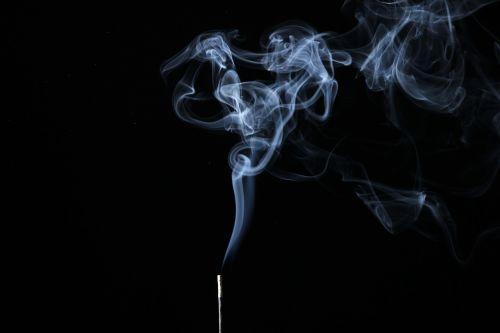 smoke illuminated background