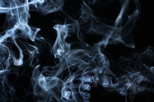smoke illuminated white