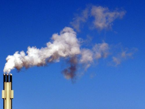 smoke building chimney