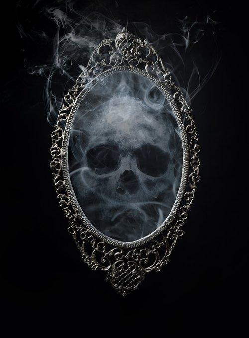 smoke and mirrors  magic  mirror
