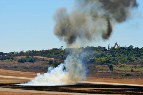 Smoke On Airfield