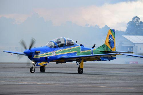 smoke squadron brazilian air force aircraft