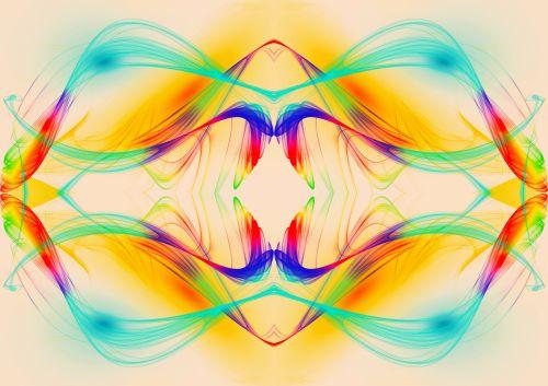 Smoke Swirls Colorful Wallpaper