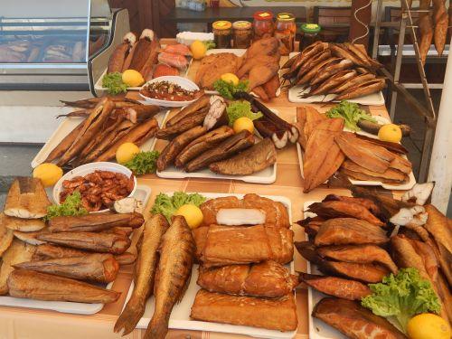smoked fish fish market market