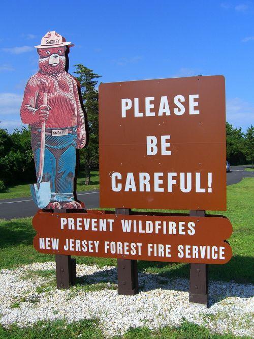 smokey bear fire prevention