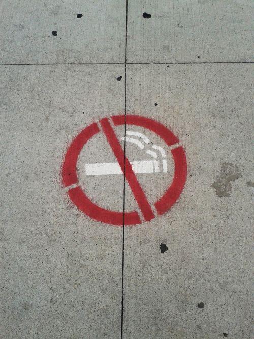 smoking no smoking cigarette