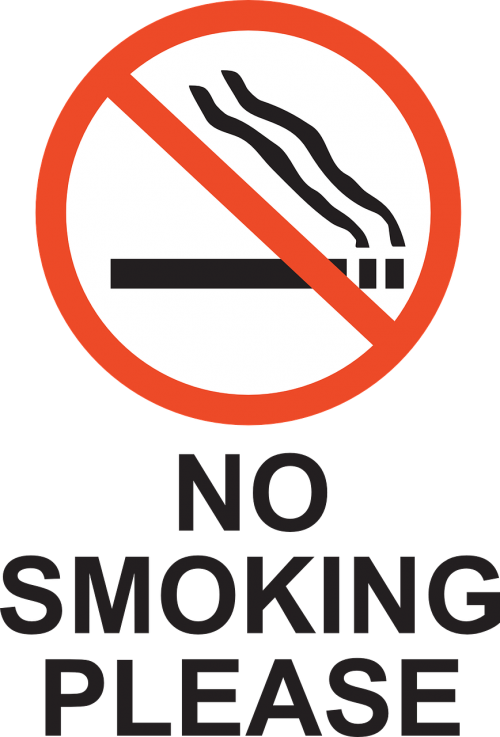 smoking prohibited forbidden