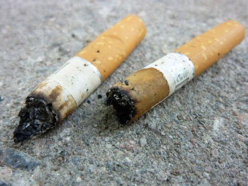 smoking cigarette nicotine