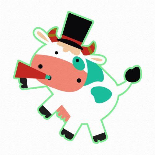 fonas, apdaila, ornamentu, spalva, kūrybingas, modelis, tapetai, iliustracija, karvė, rūkymas, rūkymas karvė 2