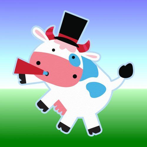 fonas, apdaila, ornamentu, spalva, kūrybingas, modelis, tapetai, iliustracija, karvė, rūkymas, rūkymas karvė