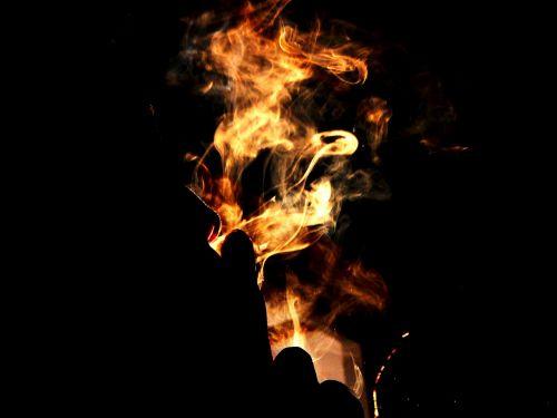 smoking is injurious to health smoke light