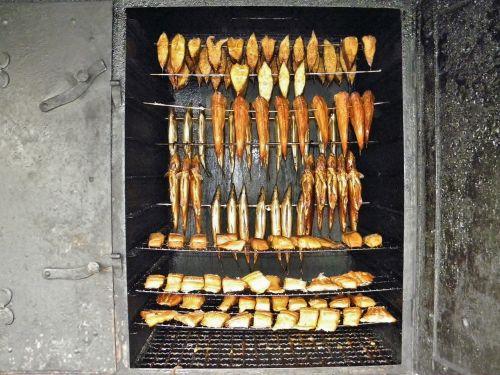 smoking oven fischer snack