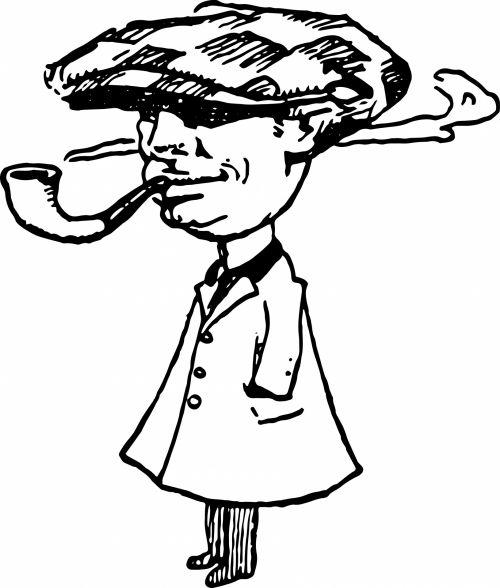 Smoking Pipe Man