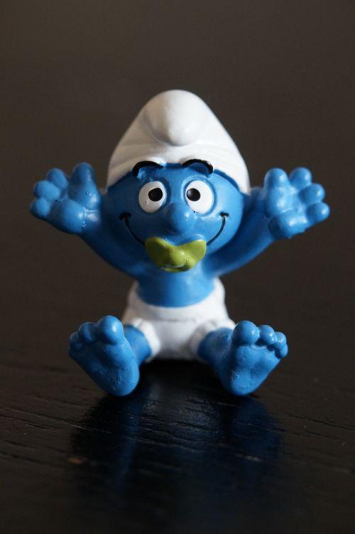 smurf baby smurf figure