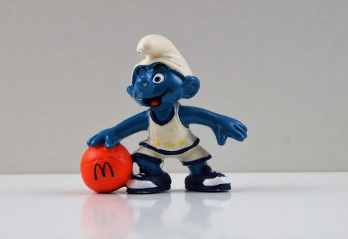 smurf smurfs basketball smurf
