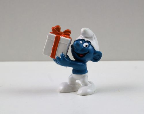 smurf smurfs gift smurf