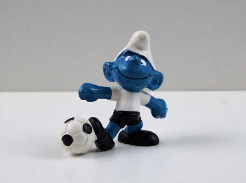 smurf smurfs football smurf